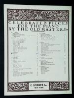 Classical minuets sheet music